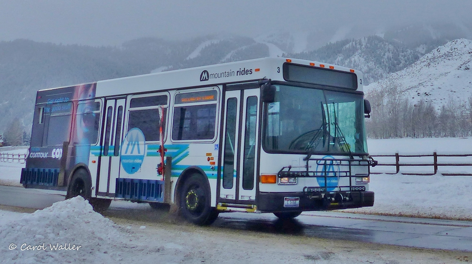Mountain Rides bus winter WM. Credit Carol Waller.JPG