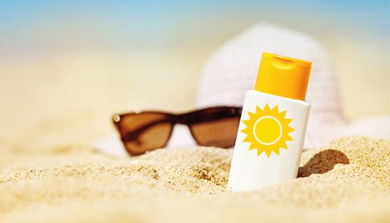 sun safety - beach safe
