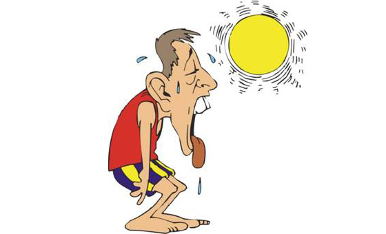 image source:https://thenpmom.wordpress.com/2012/06/08/its-so-hot-heat-stroke-and-heat-exhaustion/
