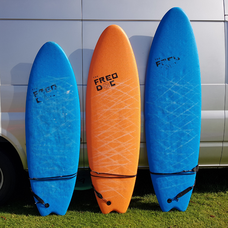 5'6, 6'0 and 6'6 Shortboard Hire Perth