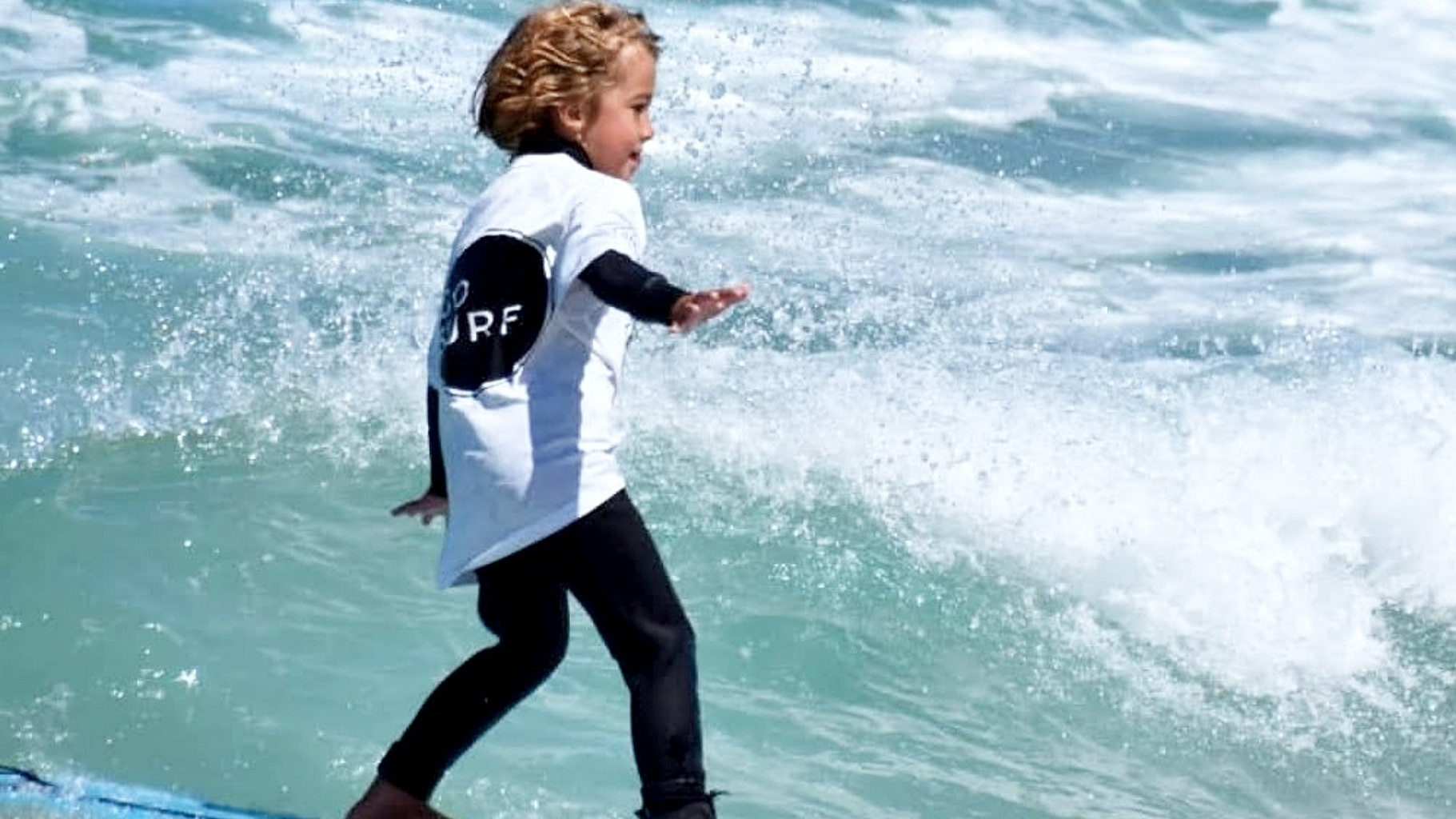 Kids SURF Lessons   Find out more »