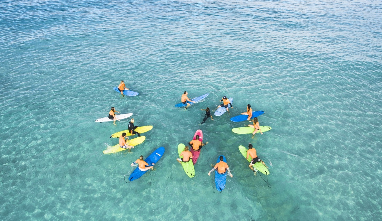 Can you believe it? This is not a pool…it's our surf school in Perth: Go Surf Perth :)