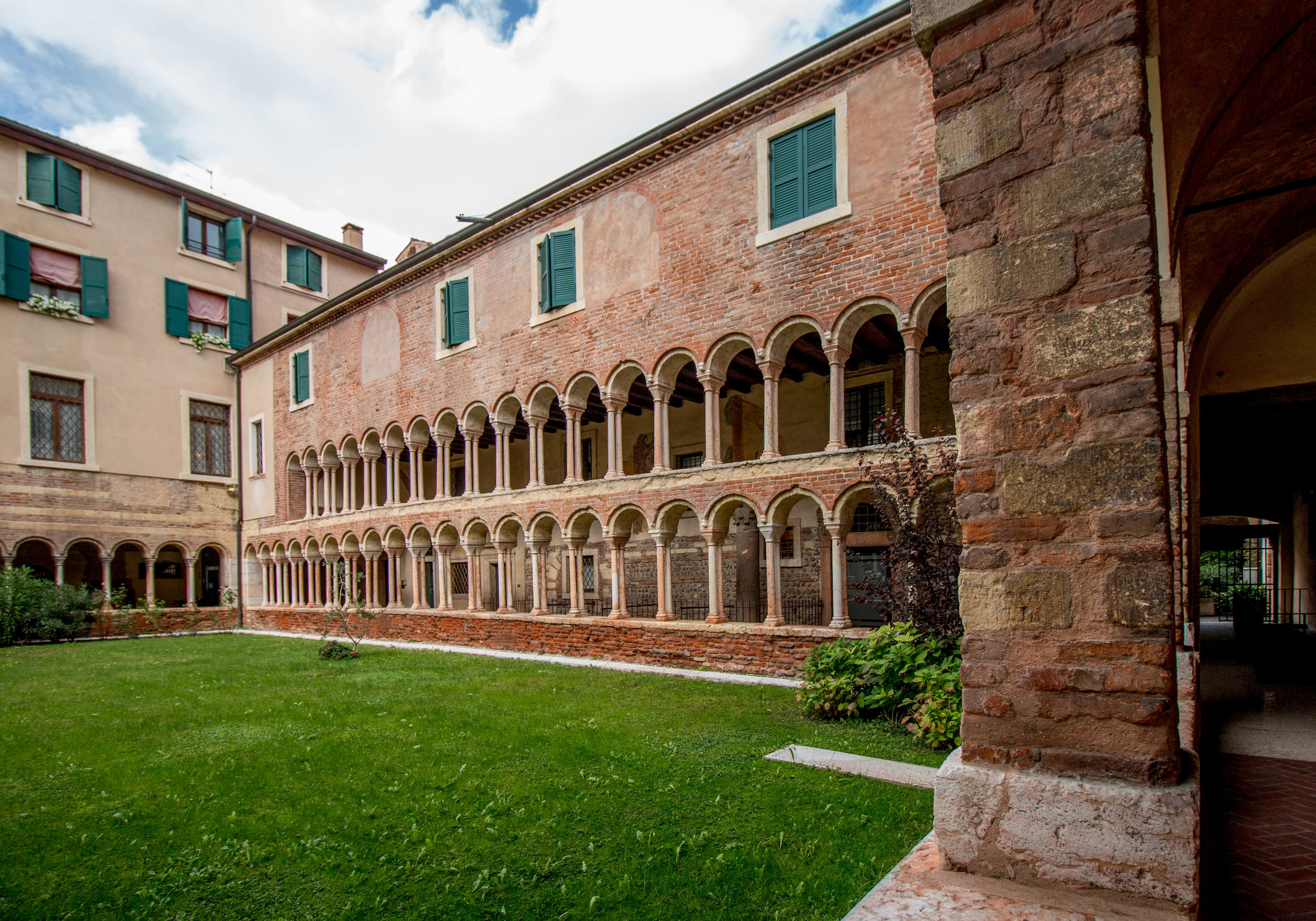 Cloister at the cathedral