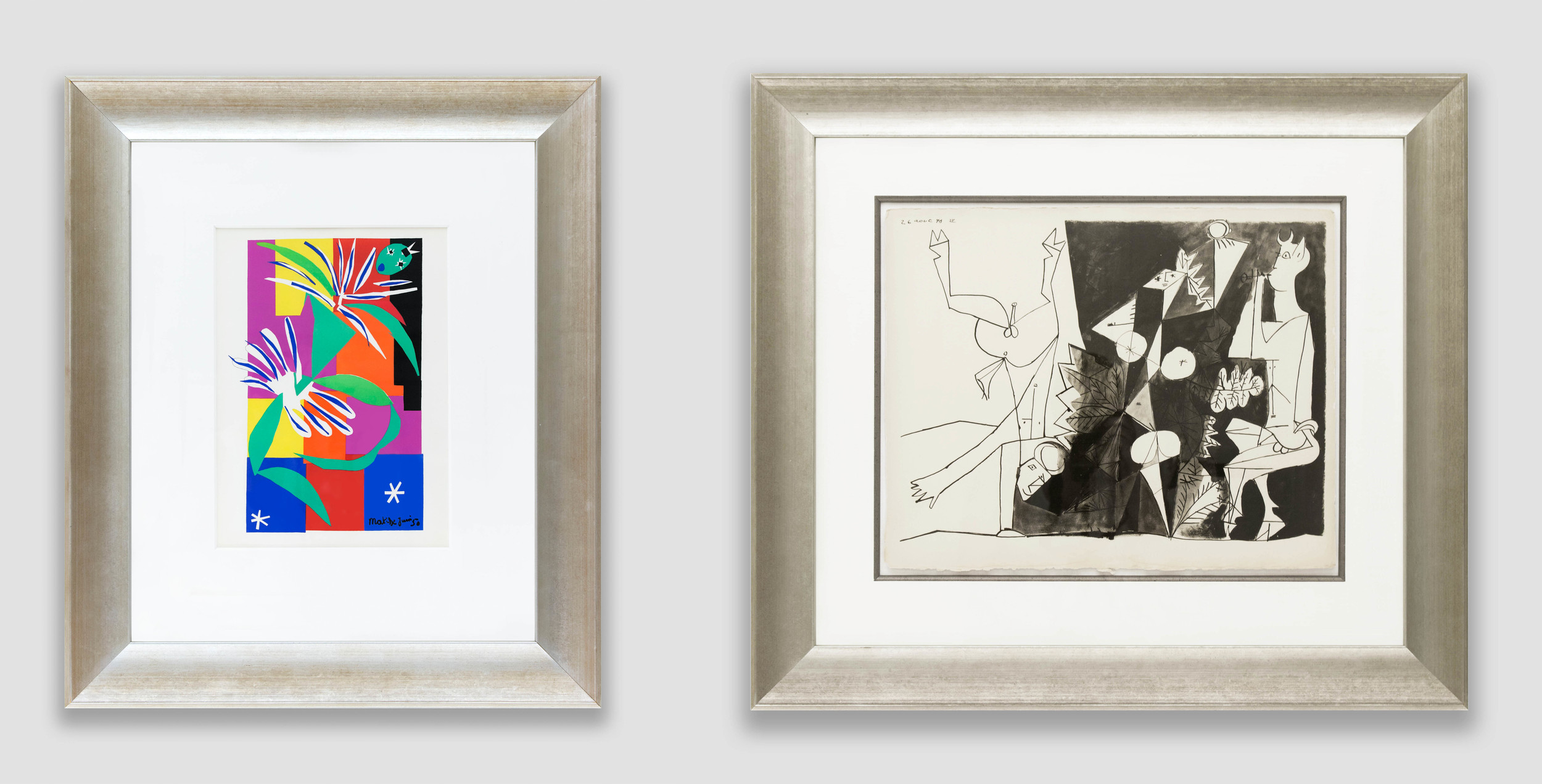 New Store Selections: Matisse, Chagall, Picasso & More
