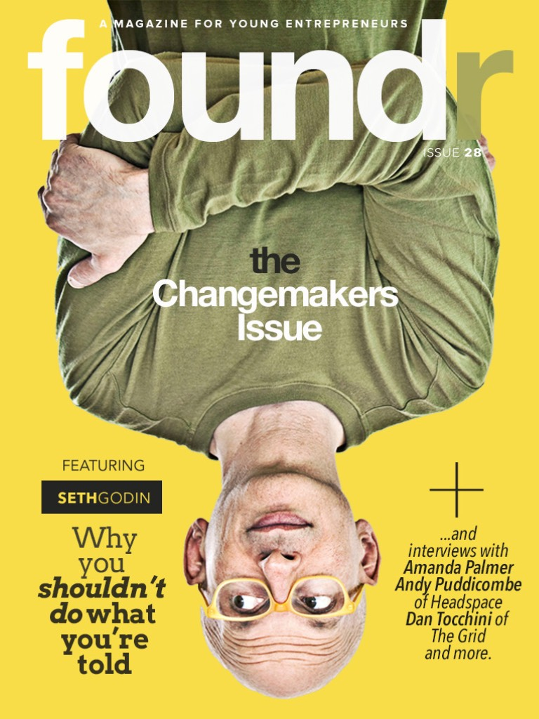 """""""Solving the Social Puzzle with Tom Dawkins"""", foundr Magazine Issue 28"""