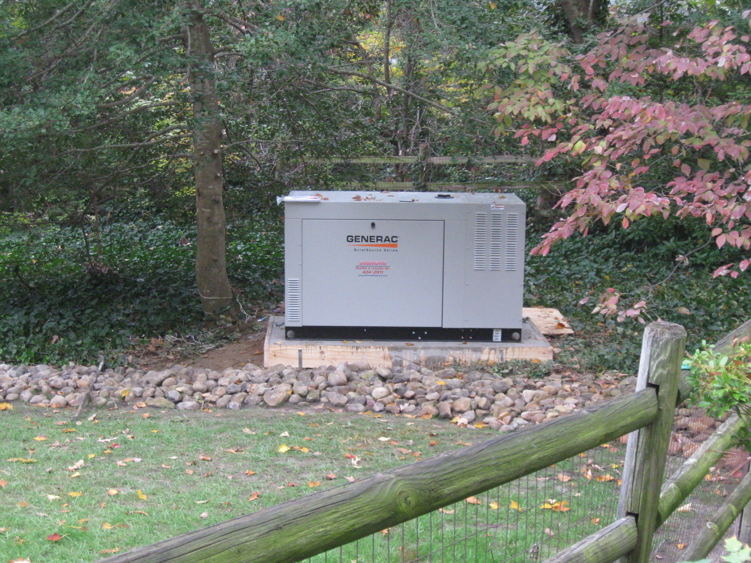 Remote 27kw Generator