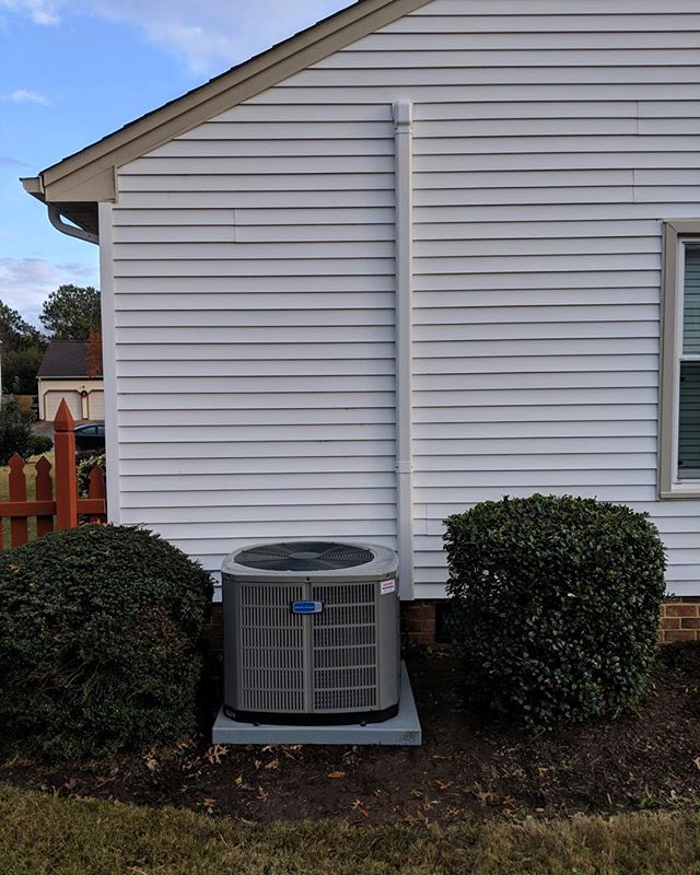 Heat pump change out before the weekend #HVAC #lovewhatyoudo