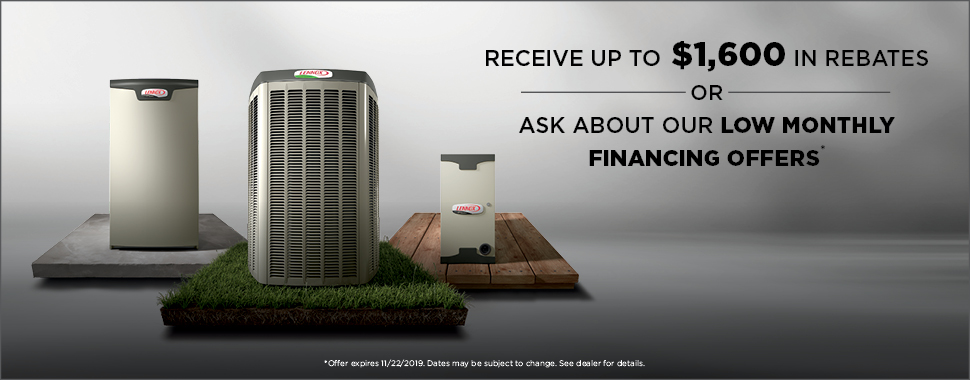 Save $1700 on a new Lennox Heating and Cooling System