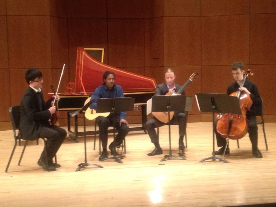 De Fossa Quartet, UBC
