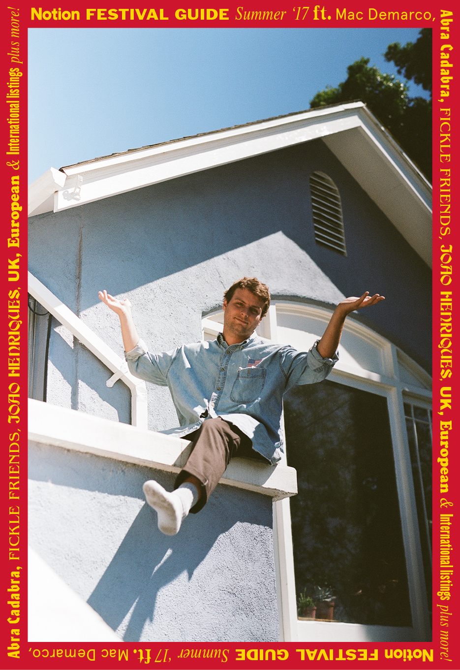 Mac DeMarco - Notion magazine festival guide cover.JPG