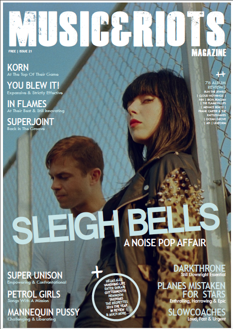 Sleigh Bells - Music&Riots cover story.png