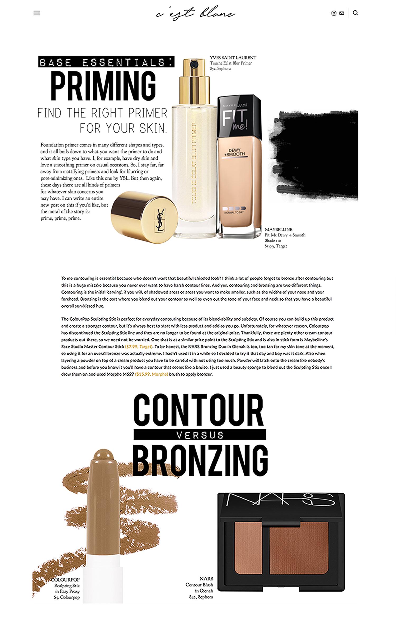 @cestblanc - BloggerBeauty + Makeup Blog