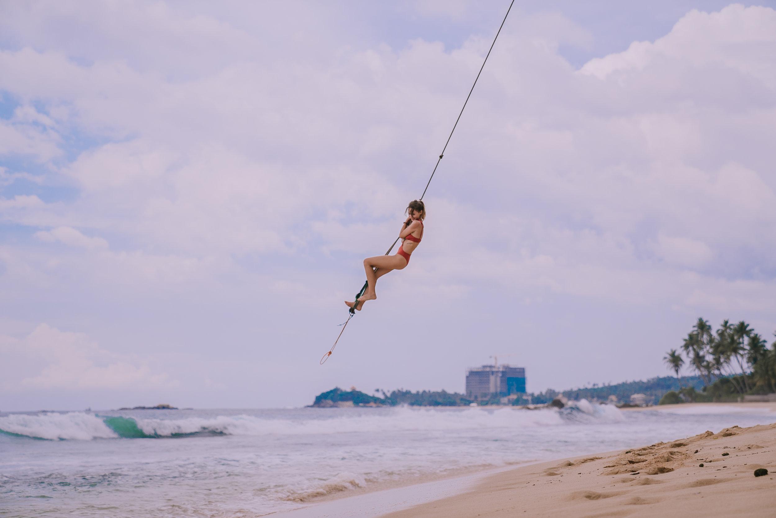 Swinging Rope - Unawatuna