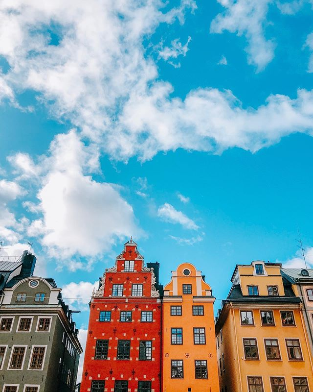 Let's talk about the sky in #stockholm 🌈