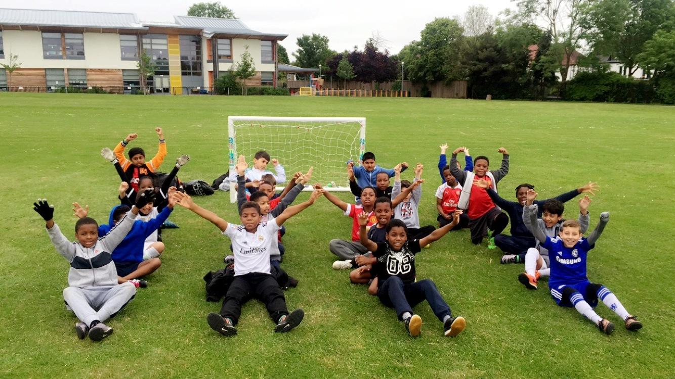 Half term soccer school!