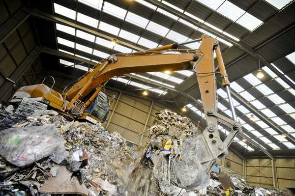 waste management and thermal cameras