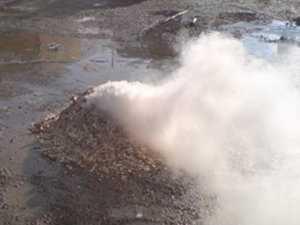 thermal cameras waste sites