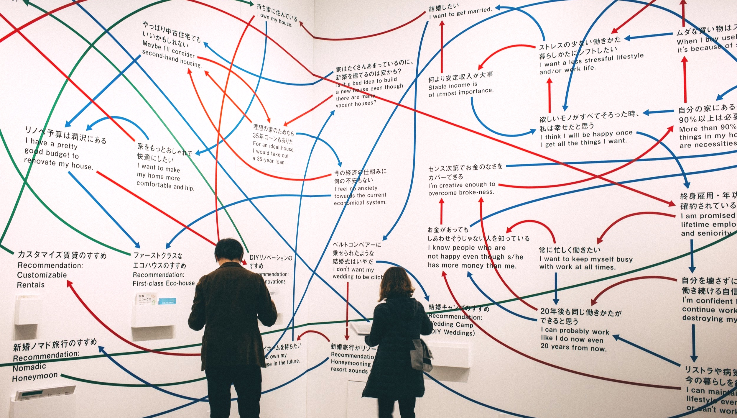 Journey mapping at an exhibition in Minato-Ku. Source: Charles Deluvio