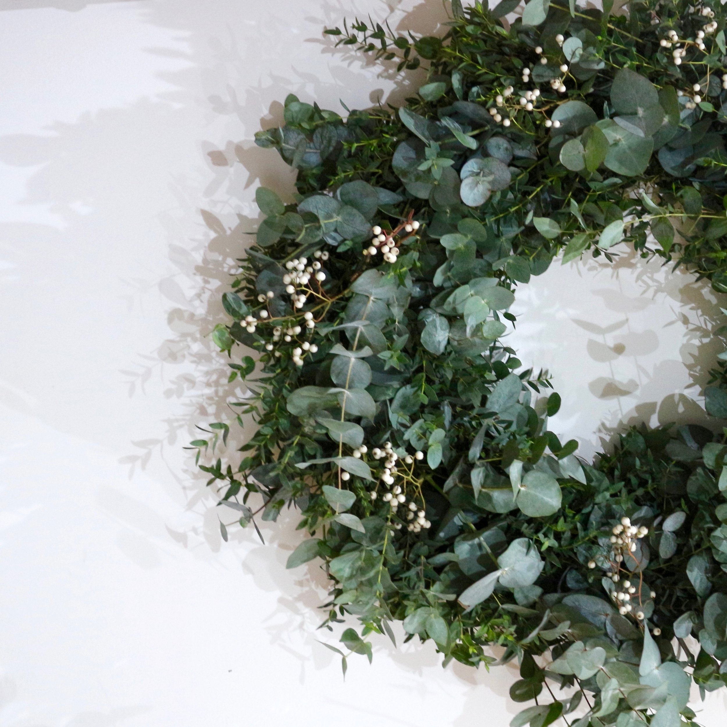 Door wreath - Materials may vary depending on availability at the time of sourcing.