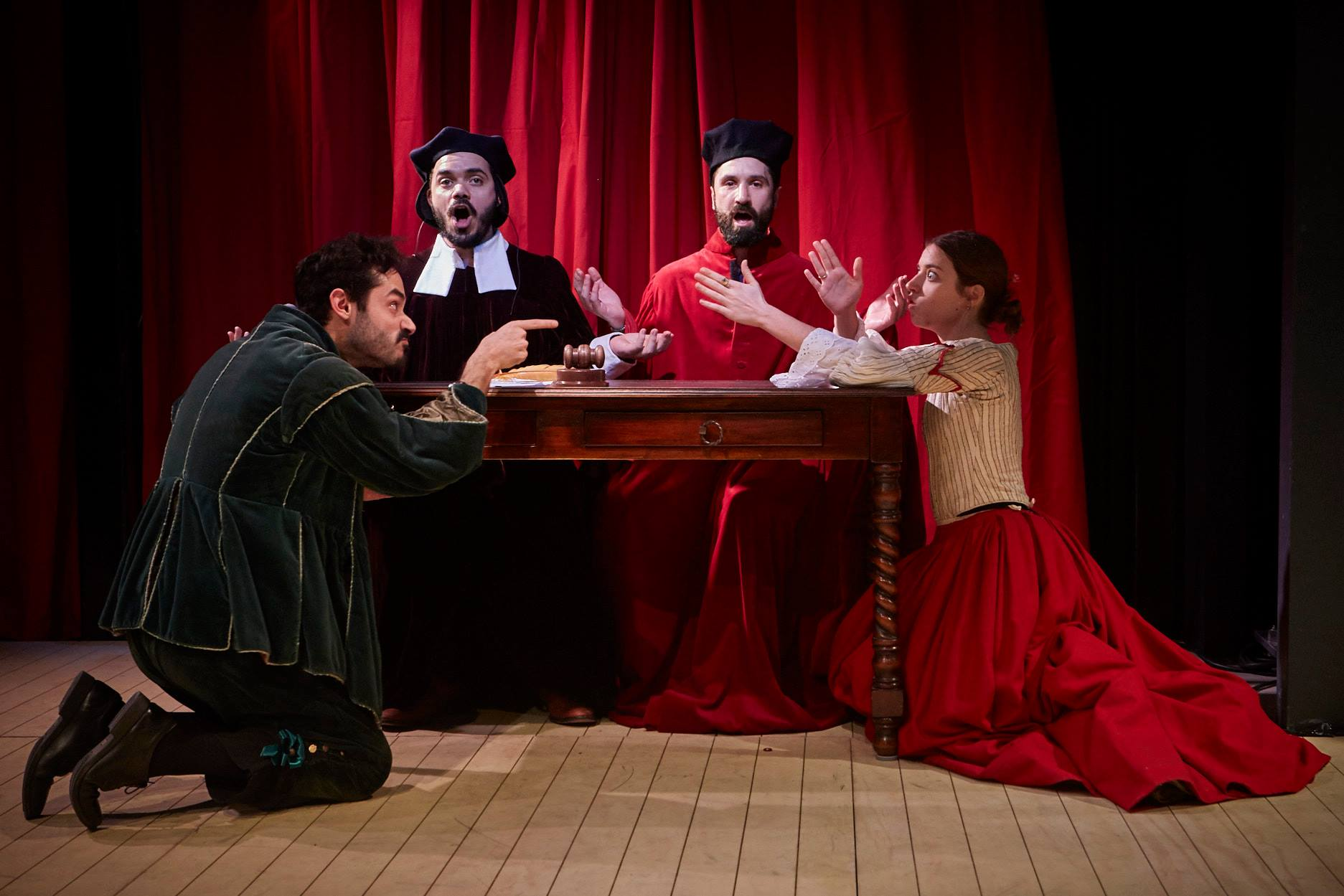The Judge of the Divorces and others... Cervantes Theatre 2017. Photo by: Elena Molina