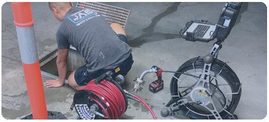 CCTV drain inspections -