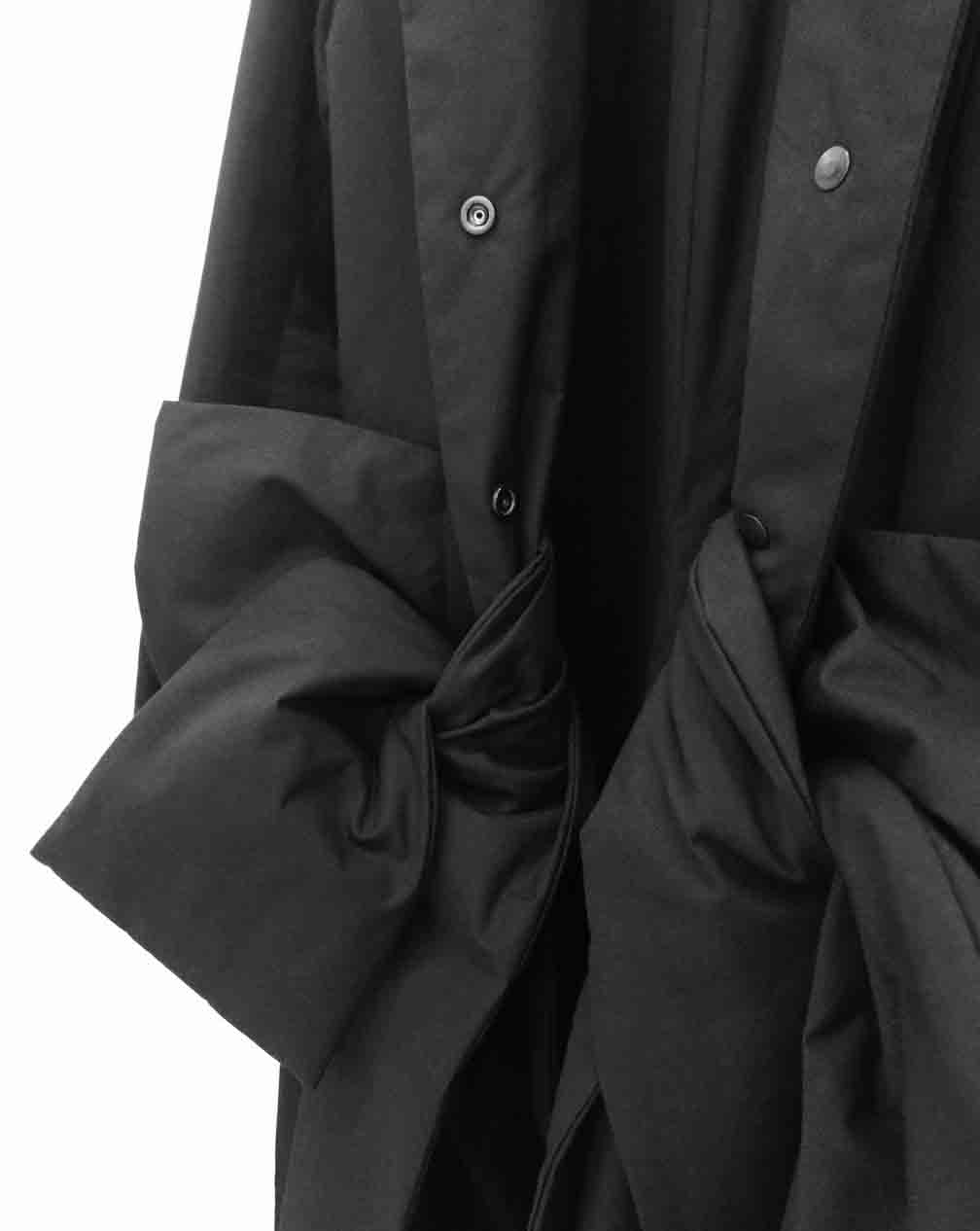 detail | bow coat