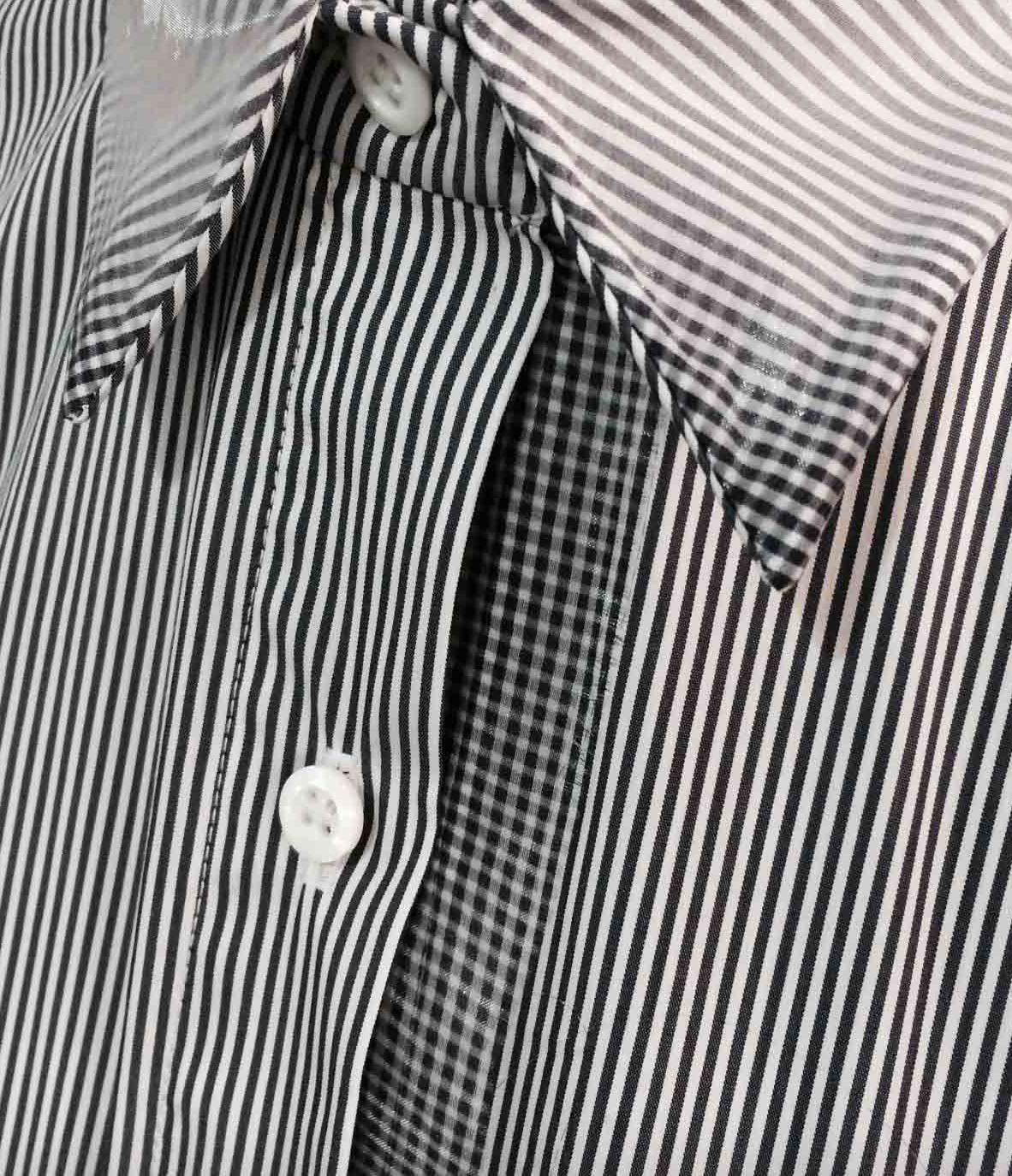 digital print fading stripe detail