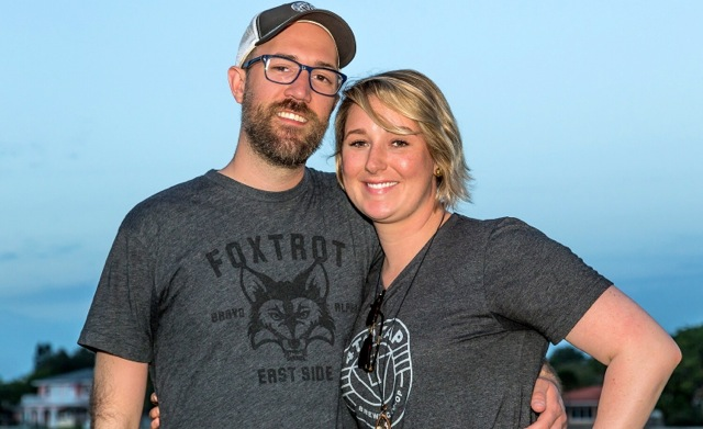 John and Erin Stecker, founders of 4th Tap Brewing Co-Op
