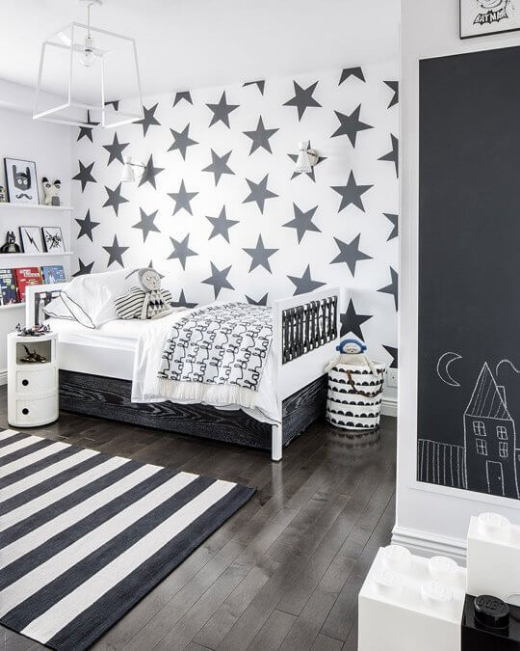 Sissy + Marley Lucky Star Charcoal  Image via  Apartment Therapy