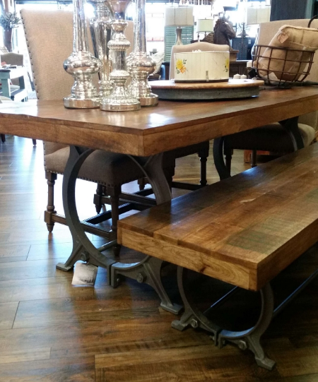 Table and Bench from Hoo La La Vintage