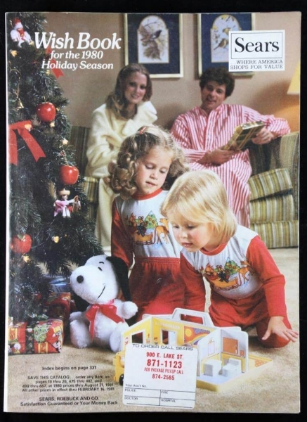 Vintage Christmas Wish Books like  this one  sell for a pretty penny on eBay.