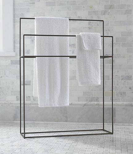 Jackson Standing Towel Rack from Crate & Barrel