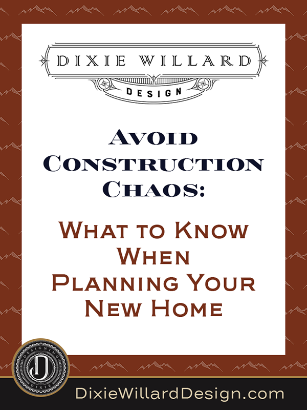 Avoid Construction Chaos-What to know when planning to build your home