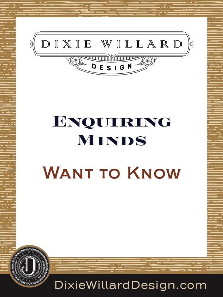 Embarrassing-design-questions Dixie Willard Design