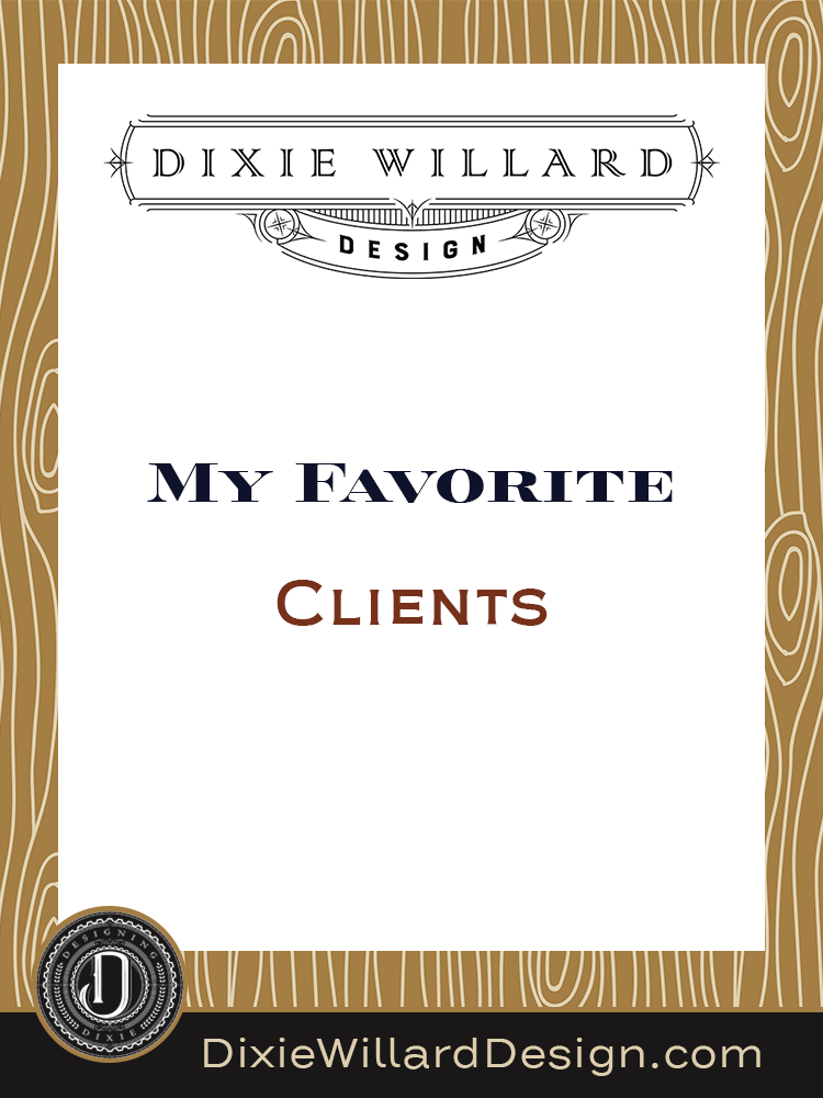 my favorite clients major life transition Dixie Willard Design