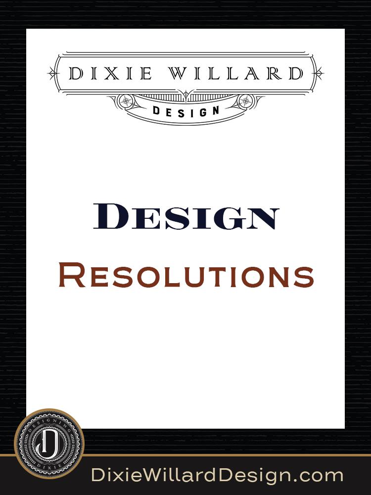 Design resolutions Knoxville Interior Design Dixie Willard Design