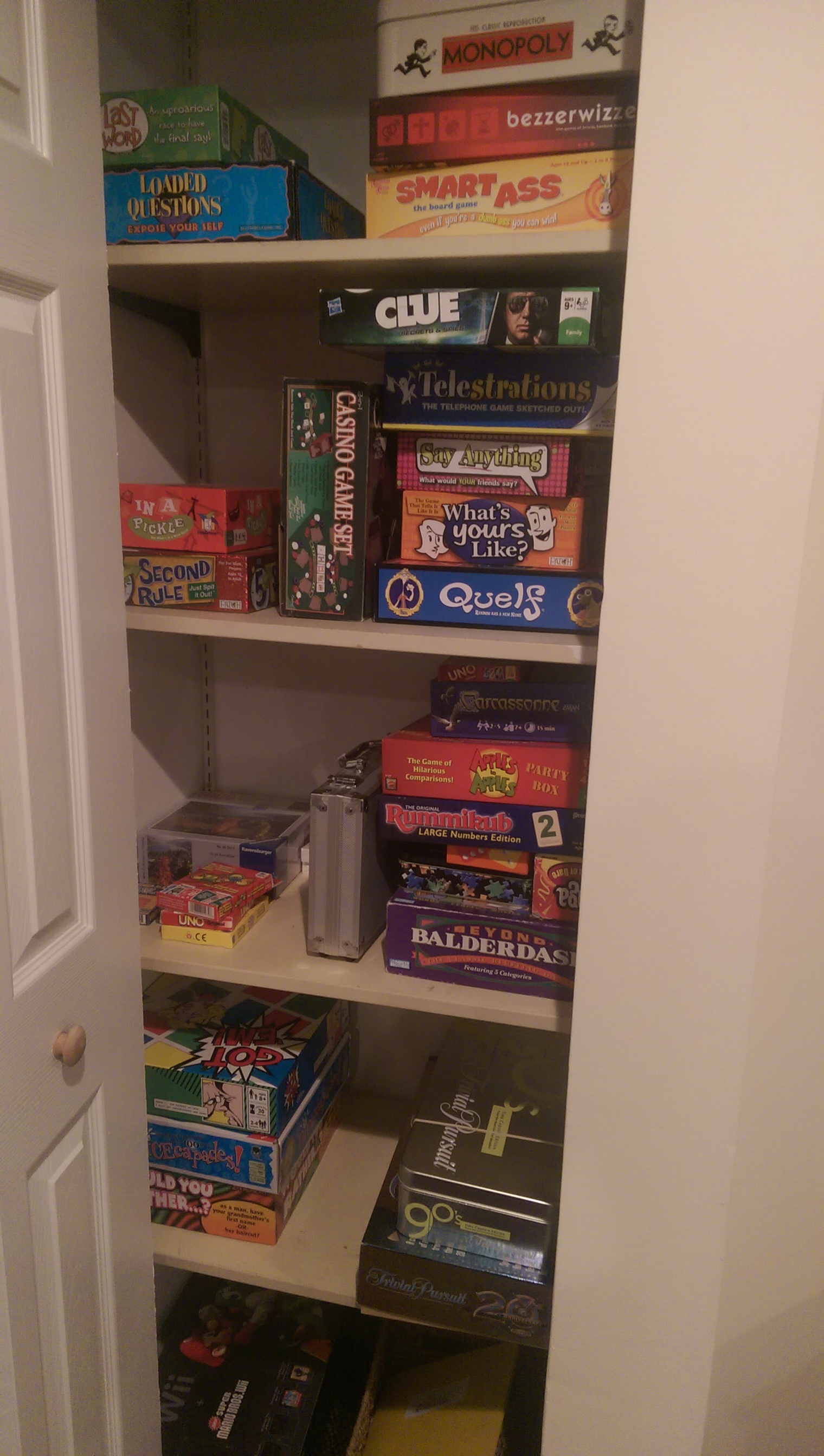 Our game closet