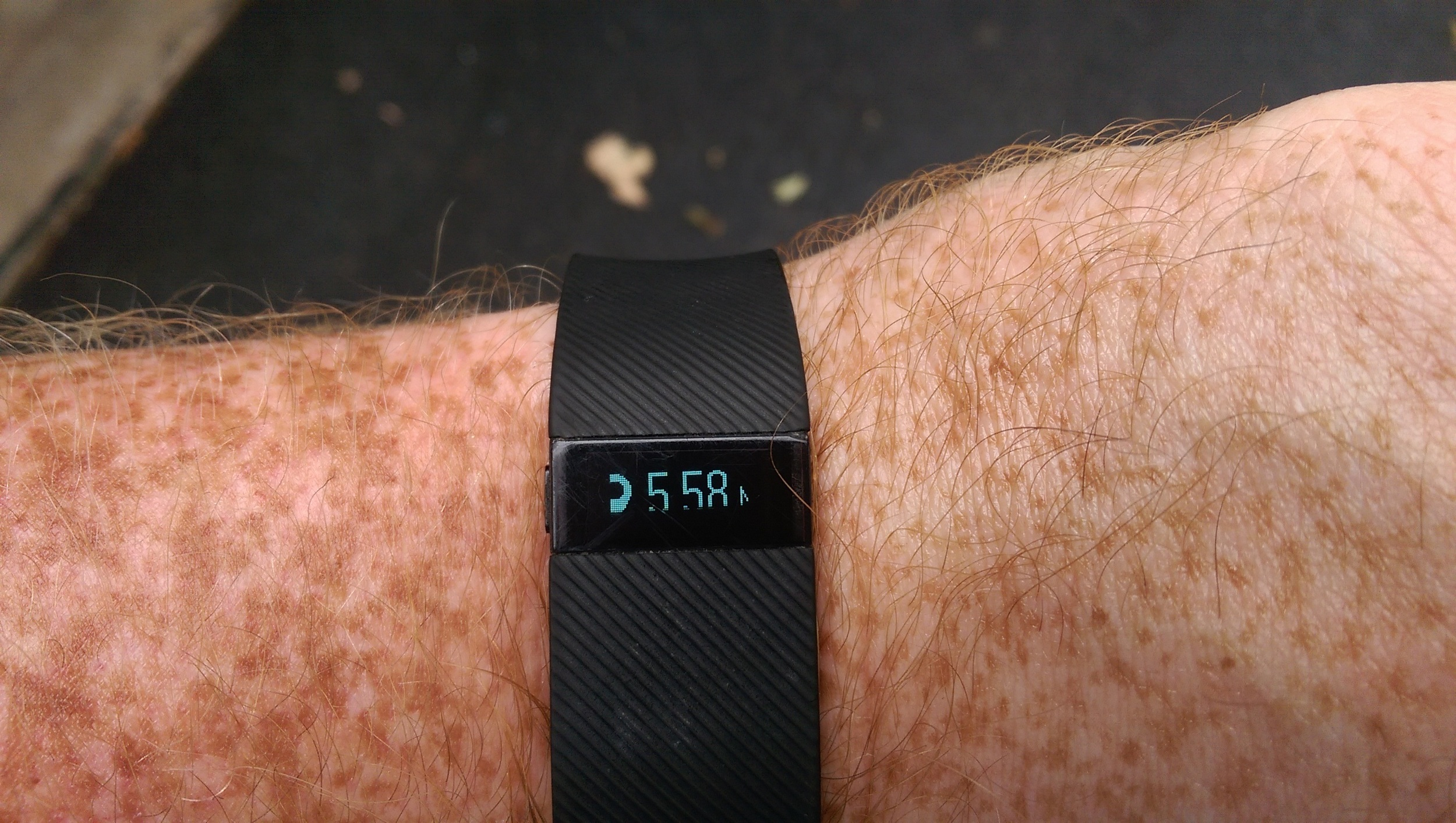 Fitbit proof that I ran 5.58 miles and Fitbit is never wrong.