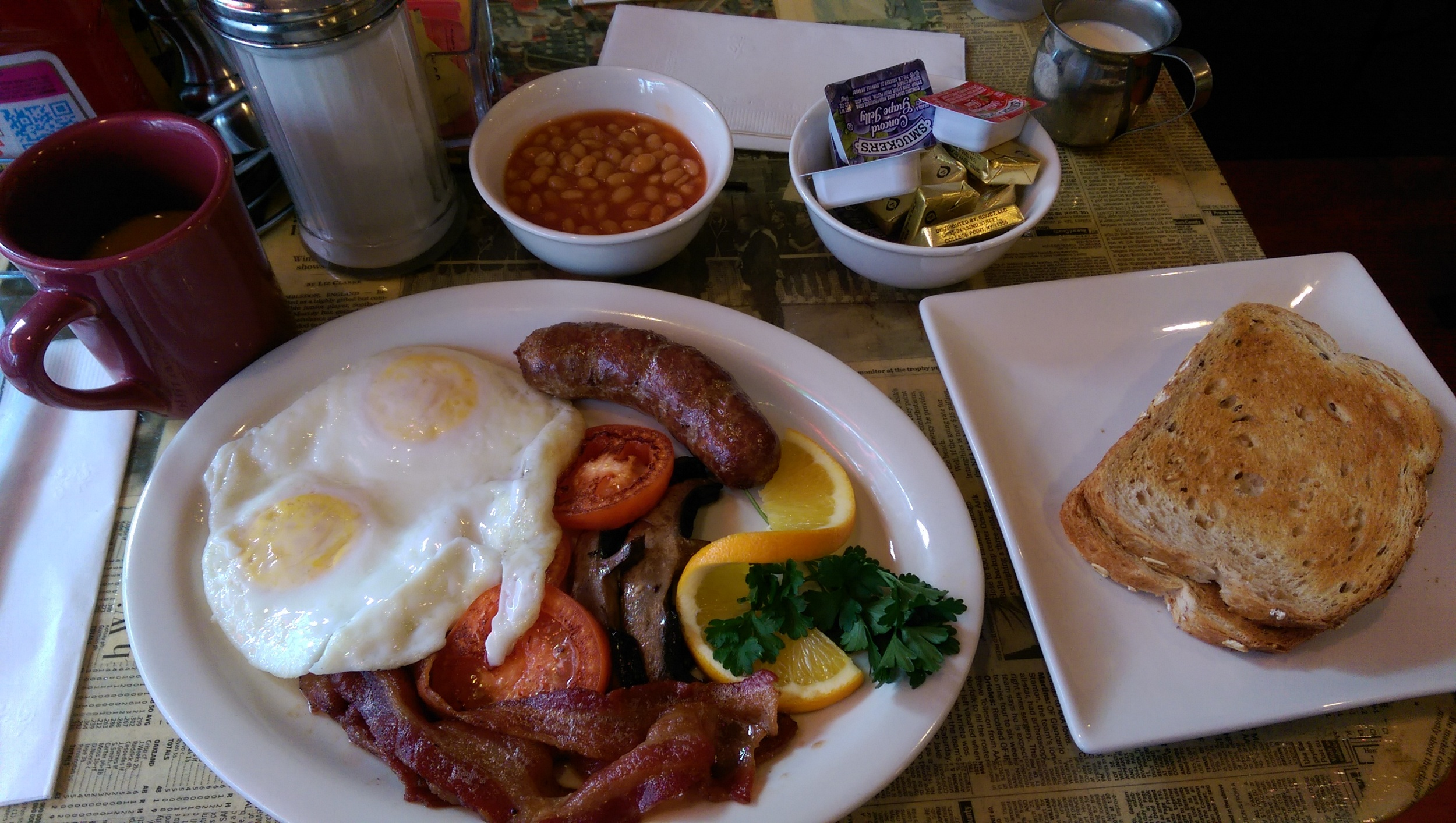 A proper English breakfast