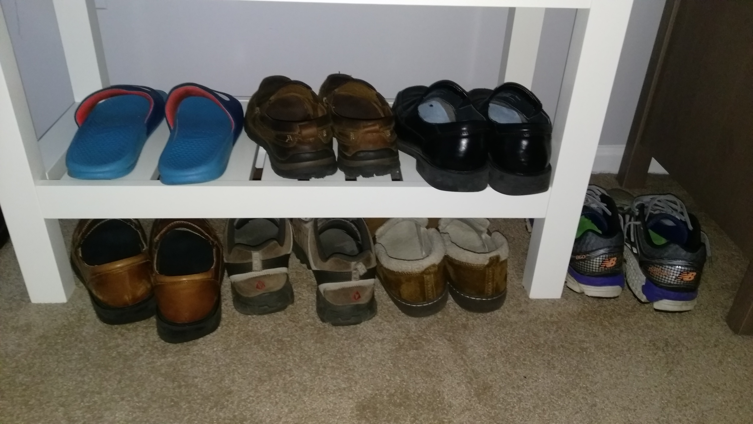 Everyday shoes.