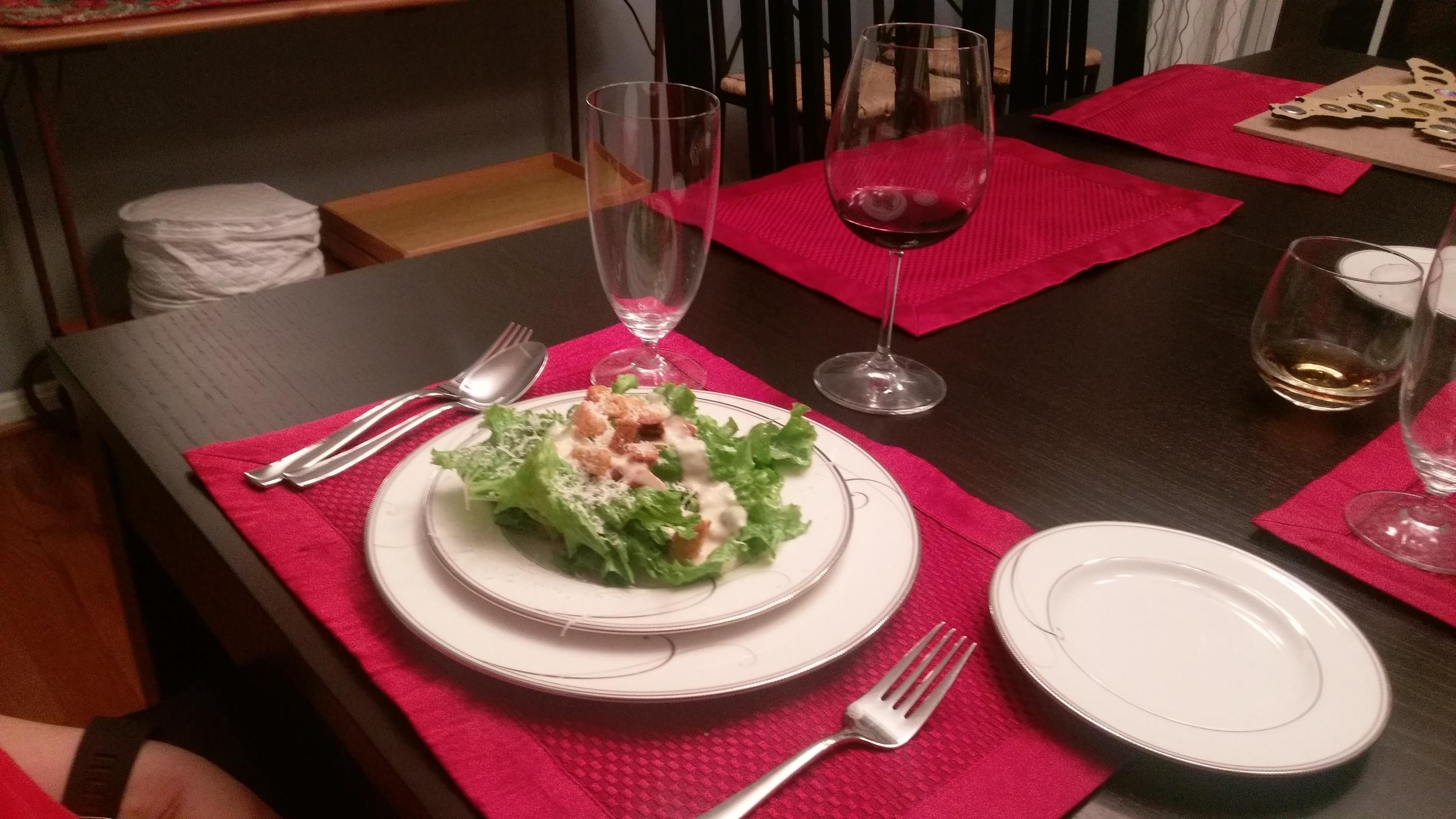 Caesar salad's are delicious.
