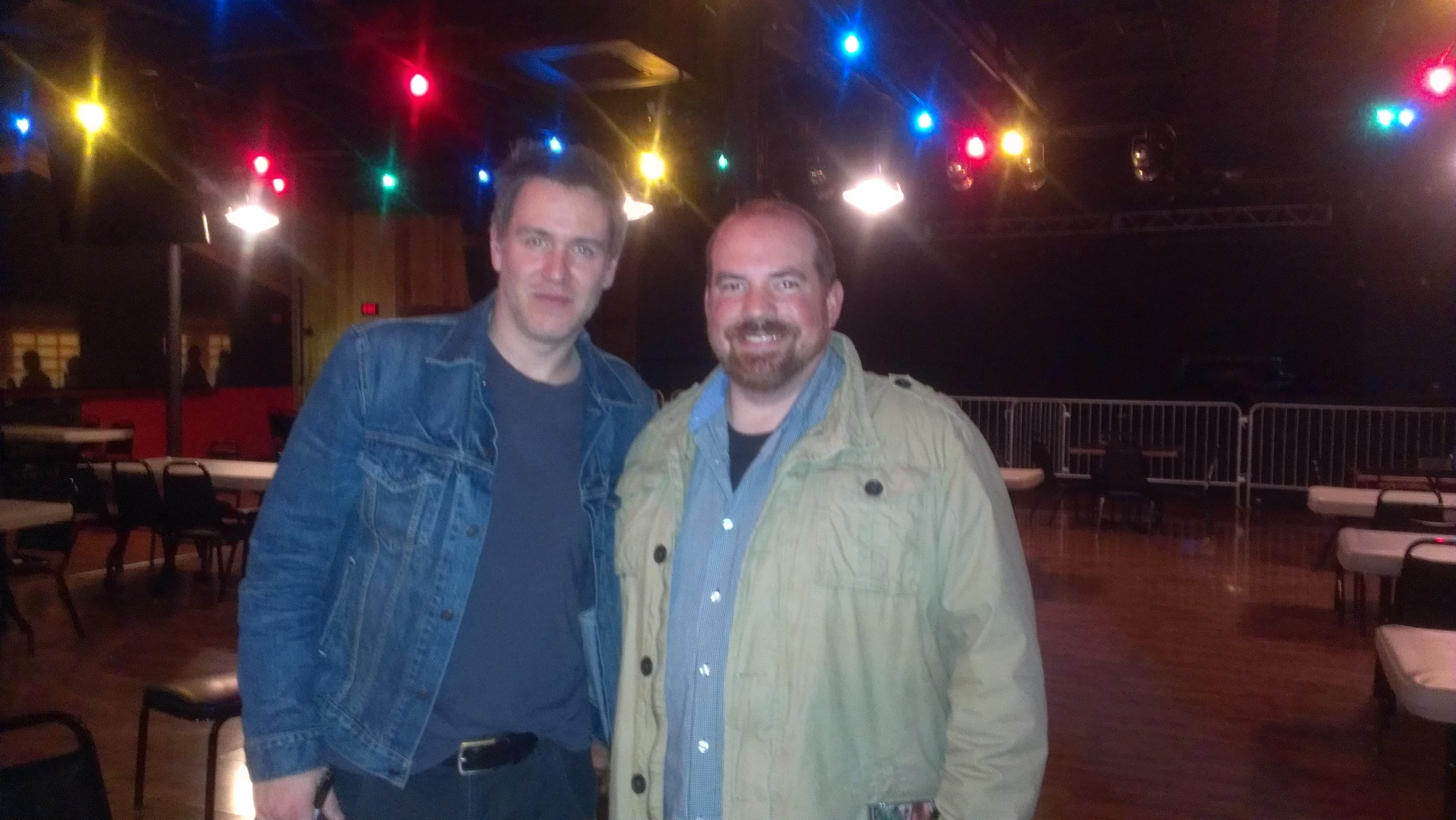 That time I got a picture with Stephen Lynch.