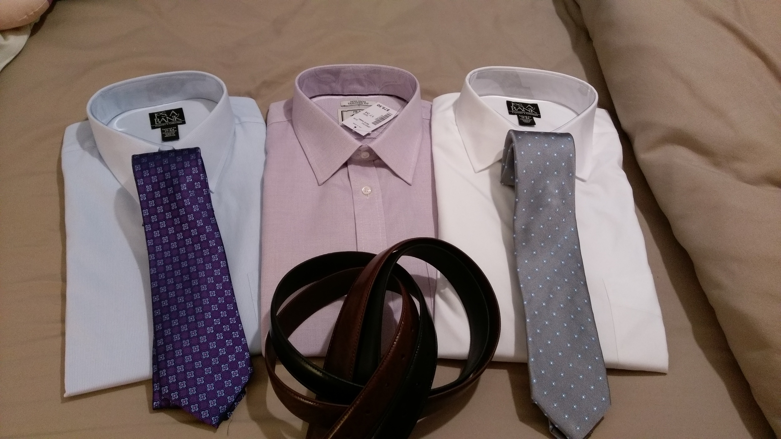 Shirts for a tailored man.