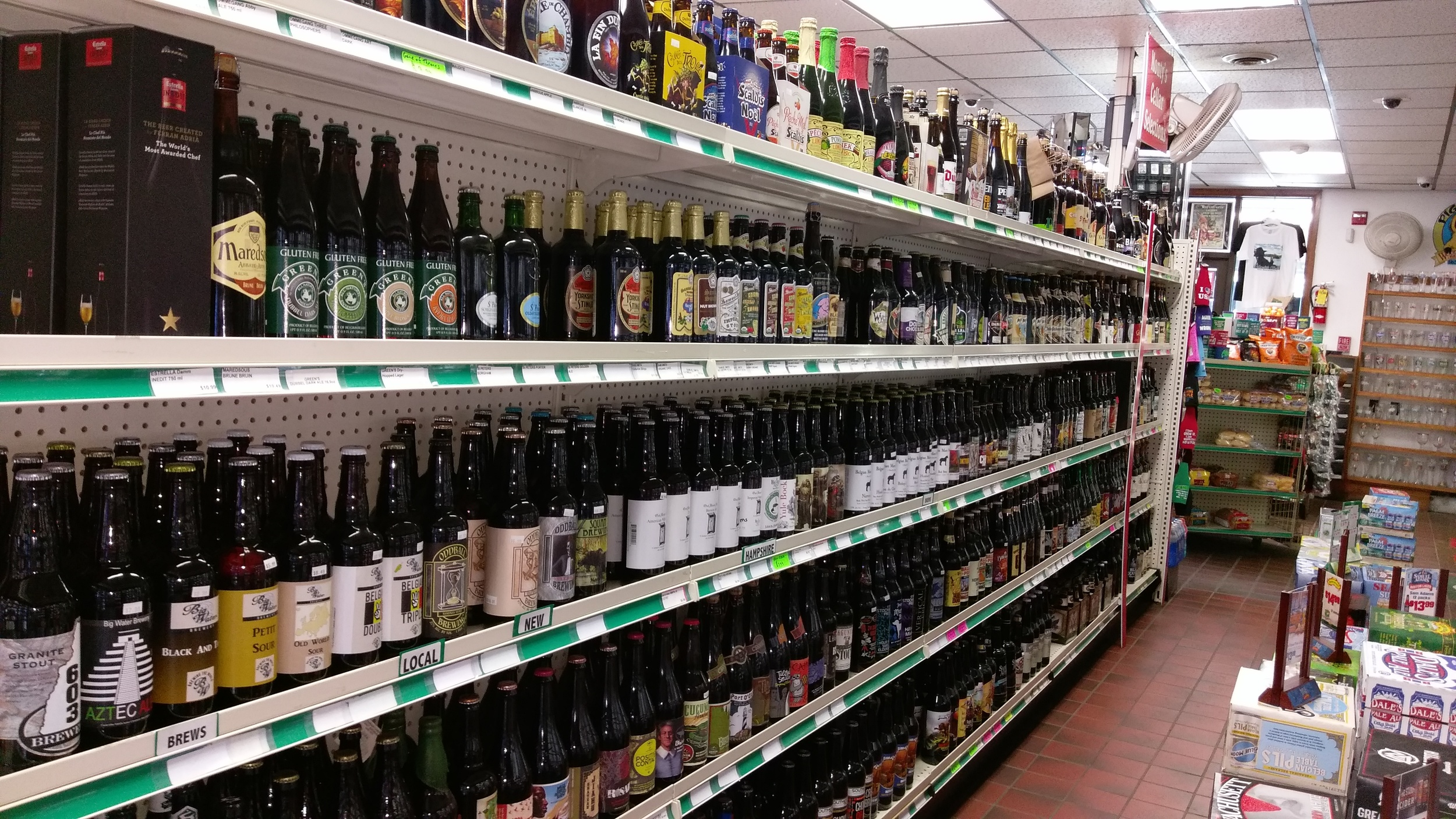 Thank goodness for beer shops