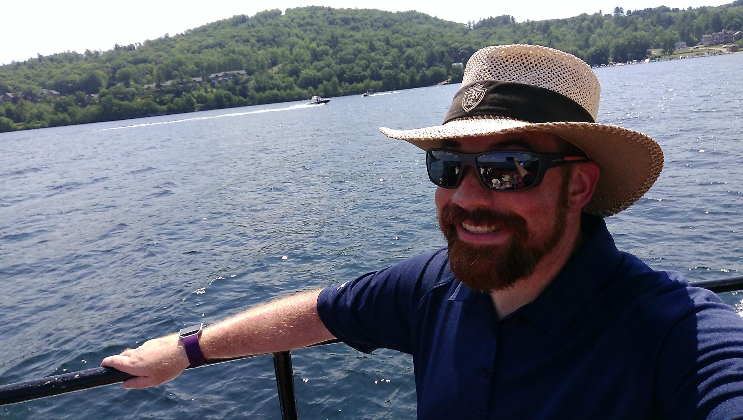 I'm a boating man