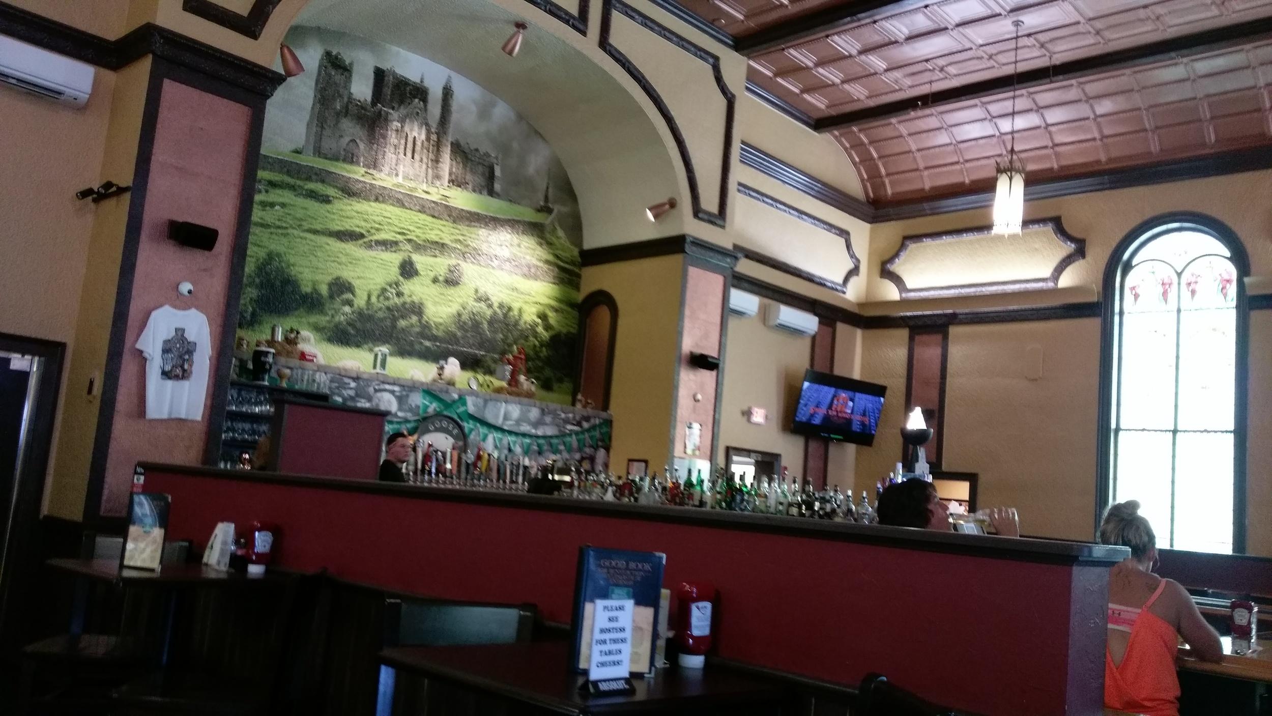 The bar in the church