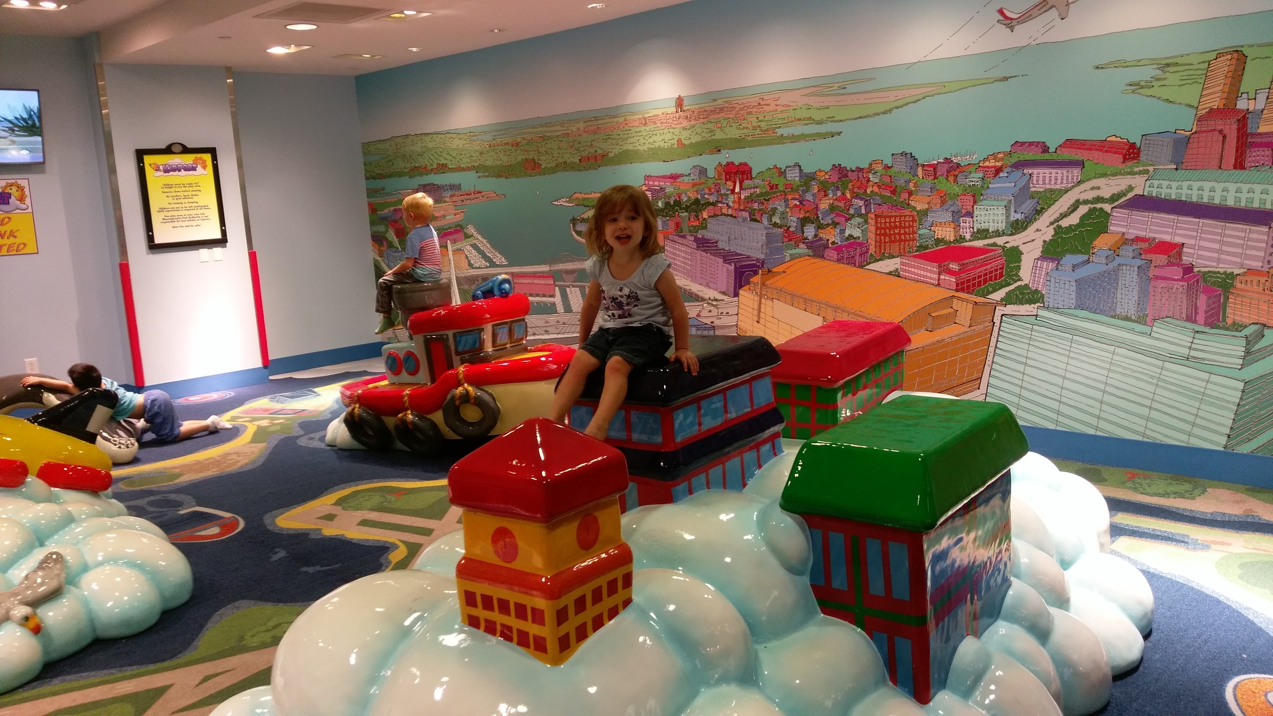 I'm Queen of the Airport Playground