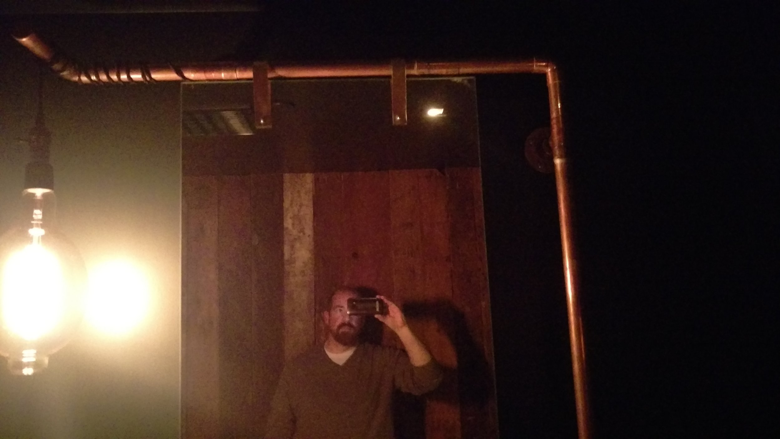 Hipster bathroom