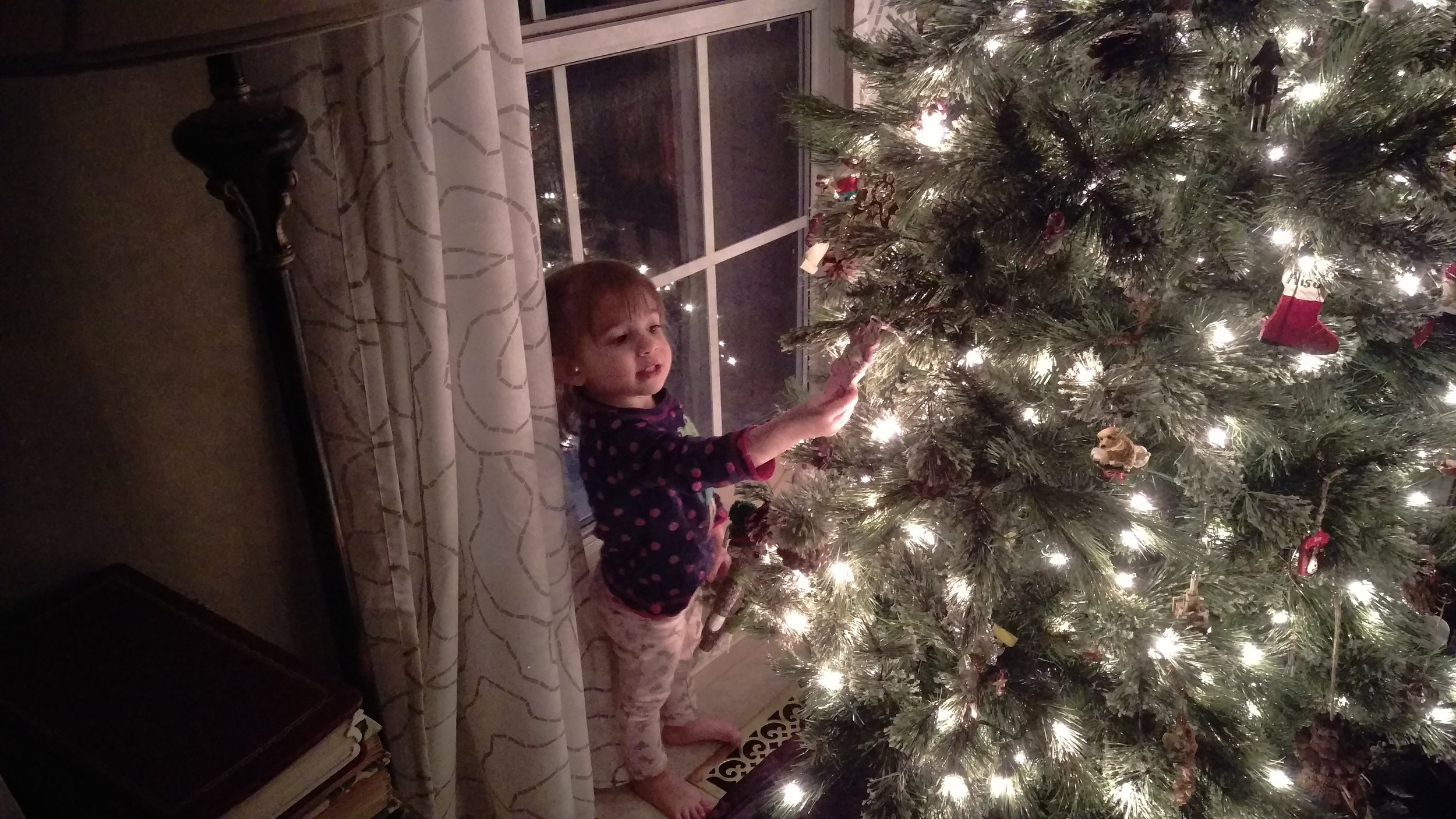 Cece is getting excited for Santa to visit.