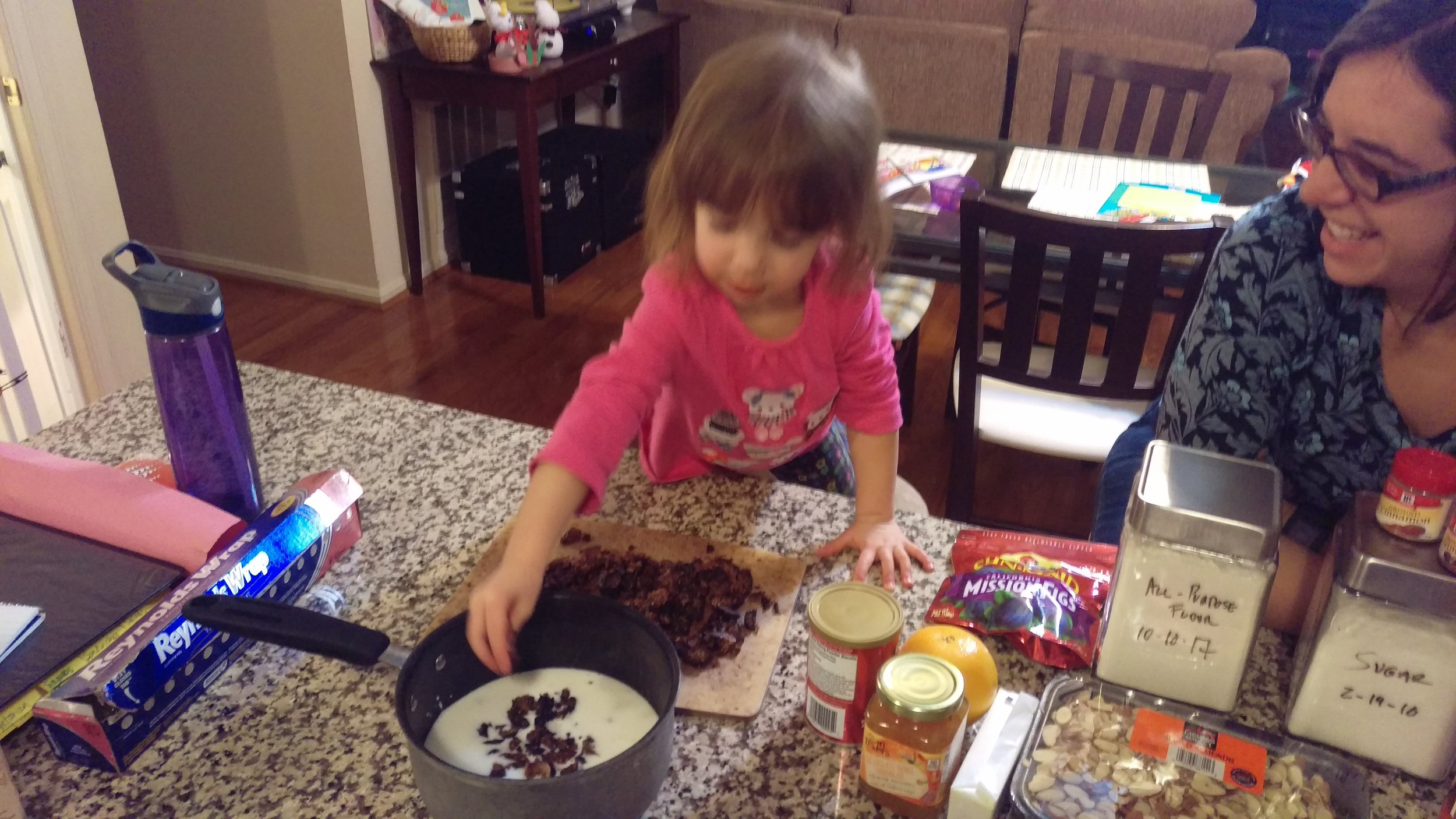 My sous-chef